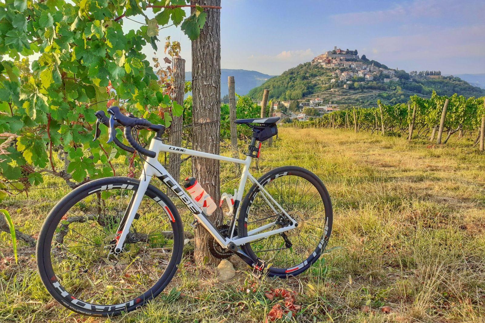 Istria rowerem – pierwsze wrażenia po przyjeździe.