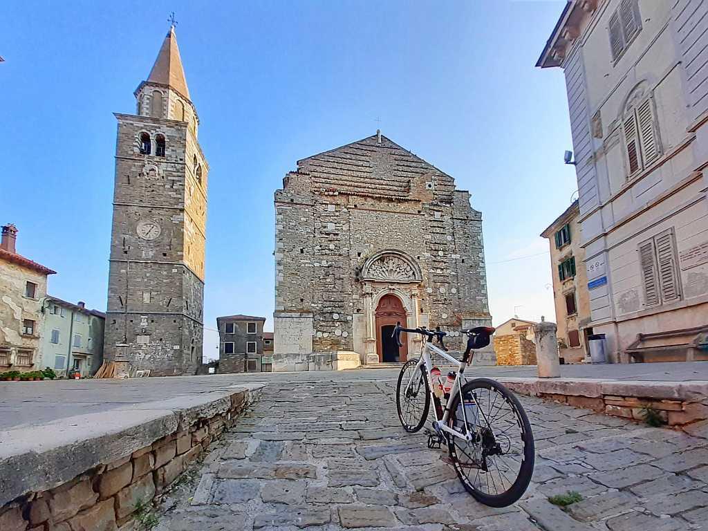 Istria Buje Momjan – 42 km trasa rowerem szosowym