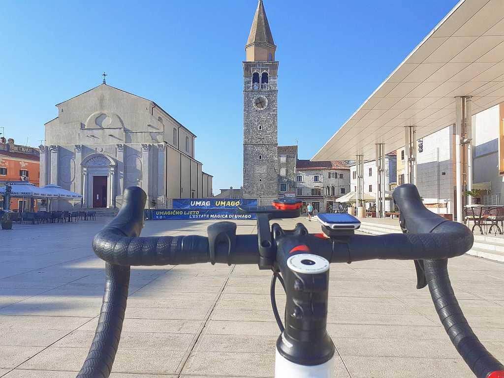Trasa rowerowa Umag Novigrad – Istria 43 km.