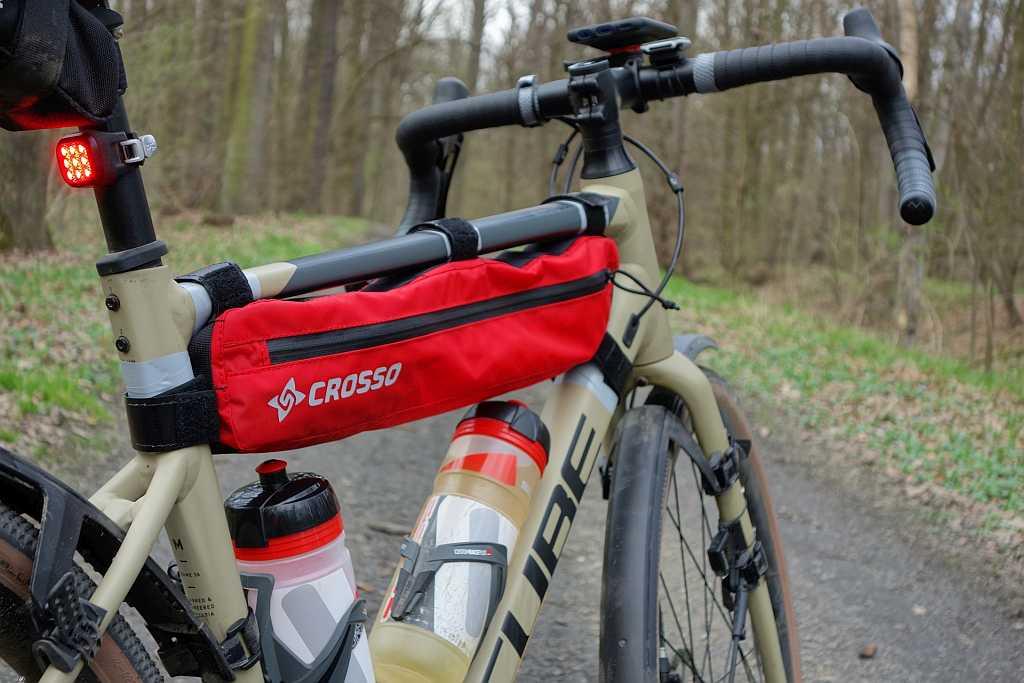 Torba na rower Crosso Zipper