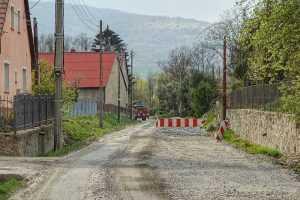 Będkowice remont drogi