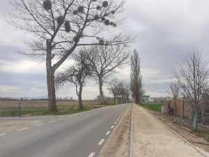 Nowa wieś kącka remont drogi