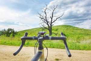 Trasa rowerowa wzgórze Mokrzańskie