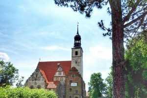 Żórawina kościół