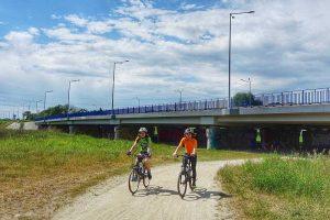 trasa gravel most krzywoustego