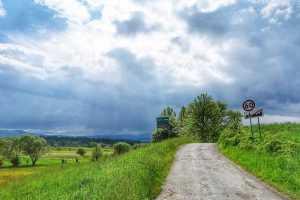 trasa rowerowa Gorzanów