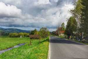 trasa rowerowa Lasówka