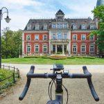 trasa rowerowa pałac w pawłowicach