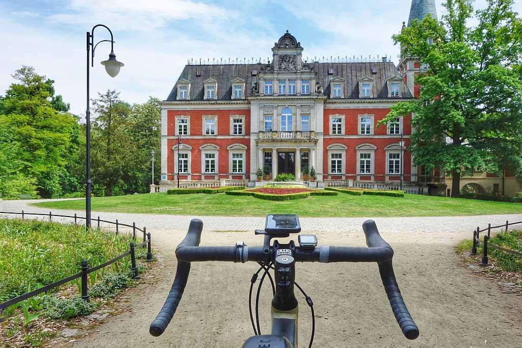 Trasa rowerowa Pałac Pawłowice – G18 45 km