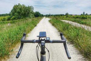 trasa rowerowa pawłowice wał