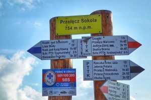 Trasa gravel Przełącz Sokola