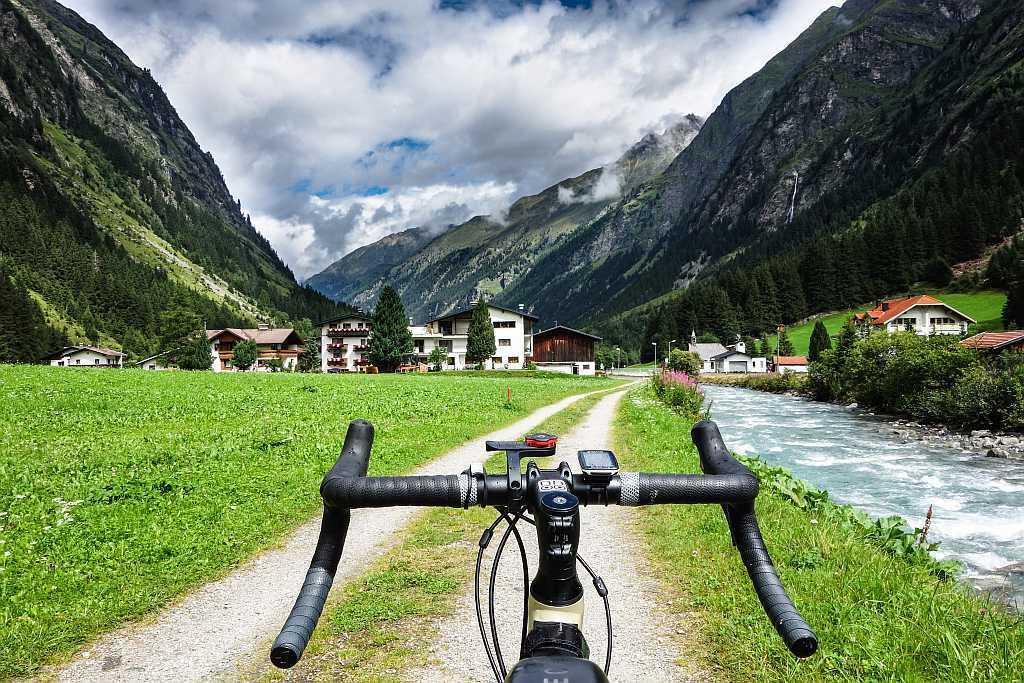 Alpy rowerem Pitztal 00